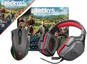 TRUST GXT 3v1 Gaming Bundle Far Cry 5 (hra Far Cry 5 zdarma)