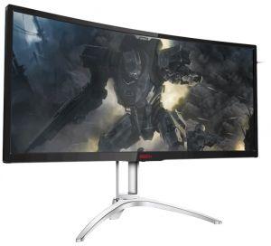 """AOC LCD AGON herní AG352UCG6 35"""" MVA G-Sync Curved/3440x1440@120Hz/4ms/50mil:1/HDMI/DP/2xU"""