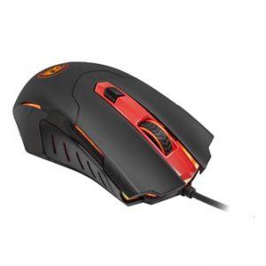 REDRAGON Myš PEGASUS, optická, 7tl., 1 kolečko, drátová (USB), černo-červená, 7200DPI, her