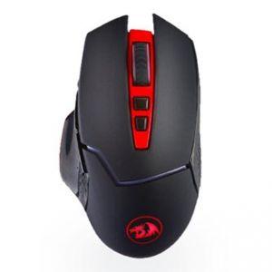 REDRAGON Myš MIRAGE, 1 ks AA, 2.4 [GHz], optická, 8tl., 1 kolečko, bezdrátová, černo-červe