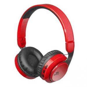 REDRAGON SKY R, herní sluchátka s mikrofonem, ovládání hlasitosti, červená, 3.5 mm jack +