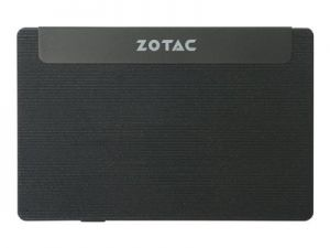 ZOTAC ZBOX P Series PI225 - Mini PC - 1 x Celeron N3350 / 1.1 GHz - RAM 4 GB - SSD - eMMC