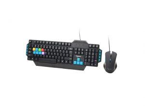 Gembird herní set klávesnice+myš KB-WMG-01, černá