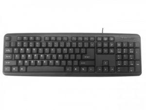 GEMBIRD klávesnice KB-U-103, USB, černá, US layout
