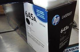 HP Toner Cartridge C9730A black poškozený obal