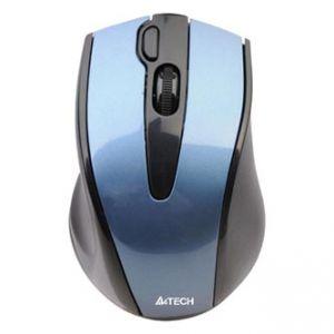 A4TECH G9-500F-4 V-track, bezdrátová optická myš, 2.4GHz, 2000DPI, 15m dosah, USB, modrá