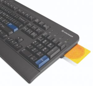 LENOVO USB Smartcard Keyboard - Swedish/Finnish