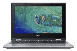 "ACER Chromebook Spin 11 - 11,6T""/N3450/4G/32GB/Chrome stříbrný + stylus"