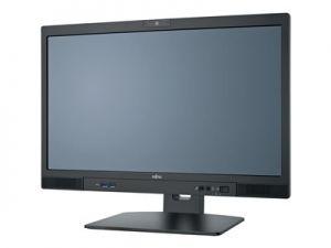 Fujitsu ESPRIMO K557/24 /Core i5-7400T/8 GB DDR4-2400/SSD SATA III 256GB/KB410 USB Black C