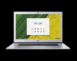 "ACER Chromebook 15 - 15,6T""/N4200/4G/64G/Chrome stříbrný"
