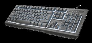 klávesnice TRUST Lito Backlit Multimedia - CZ/SK