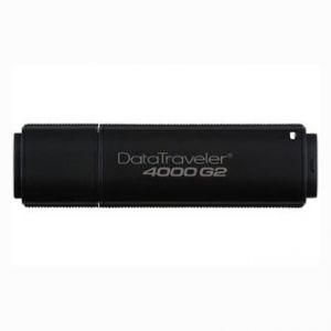Kingston USB flash disk, 3.0, 8GB, Data Traveler 4000 G2, černý, DT4000G2DM/8GB