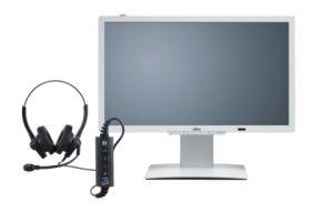 FUJITSU 24´´ P24-9 TE PRO IPS 1920x1080/20M:1/5ms/250cd/DVI/DP/3xUSB/repro/ZBD