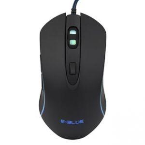 E-Blue Myš EMS667, optická, 6tl., 1 kolečko, drátová (USB), černá, 3500DPI, herní, podsvíc