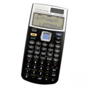 CITIZEN Kalkulačka SR270XCFS, SR270X, černá, vědecká, desetimístná