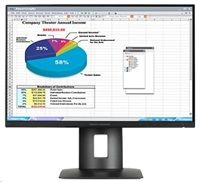 "HP LCD Z24n Monitor 24"" wide (1920x1200), IPS, PiP,16:10,300nits,8ms,1000:1,DisplayPort, M"