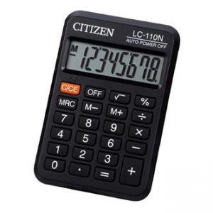 CITIZEN Kalkulačka LC110NR, černá, kapesní, osmimístná