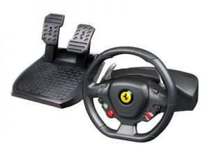 Thrustmaster Ferrari 458 Italia - Volant a pedály - kabelové - pro PC, Microsoft Xbox 360