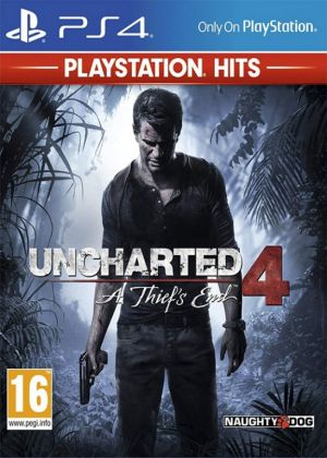 PS4 - Uncharted 4: A Thiefs End HITS
