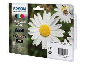 Epson 18XL Multipack - 4-balení - XL - černá, žlutá, azurová, purpurová - originál - inkou