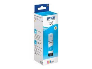 EPSON 106 - 70 ml - azurová - originál - inkoustový zásobník - pro EcoTank ET-7700, ET-775