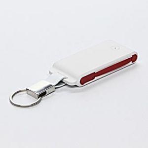 Power Bank, Li-ion, 5V, 1500mAh, nabíjení mobilních telefonů aj., 2xkonektor (USB A + ligh