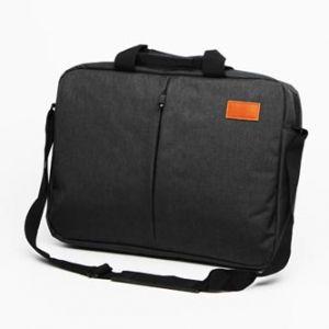 """Taška na notebook 15.6"""", NT013, tmavě šedá z polyesteru, voděodolná s ramenním popruhem"""