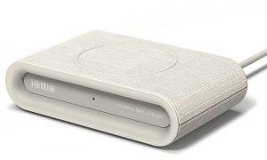 IOTTIE iON Wireless Pad Plus Ivory, tan