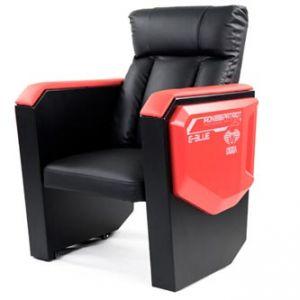 Herní sofa E-BLUE COBRA černo-červená, pevná
