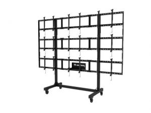 NEC Mobile Video Wall Trolley PD02VWM 3x3 46 55 L