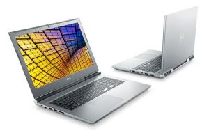 Dell Vostro 7580, Core i7-8750H, 8GB, 128GB SSD+1TB, 15.6 FHD, GeForceGTX 1060, FgrPr, WLA
