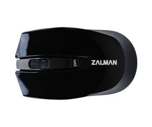 Zalman myš ZM-M520W, bezdrátová optická, 1600DPI, USB, 4tl., black