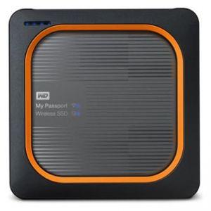 """Western Digital 2.5"""", USB C (3.1), 250GB, My Passport SSD Wireless, WDBAMJ2500AGY-EESN"""