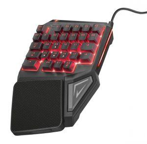 kláv. TRUST GXT 888 Assa Single Handed Keyboard