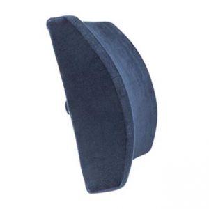 Bederní opěrka, univerzální, ergonomická, modrá, paměťová pěna