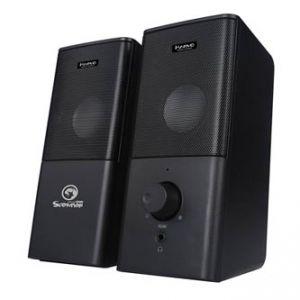 MARVO SG-117 reproduktory 2.0, 6W, regulace hlasitosti, černé, herní, USB+3.5mm konektor2