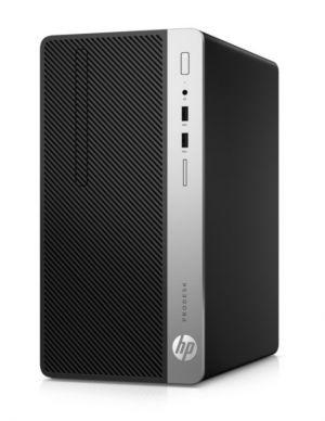 HP ProDesk 400 G5 - Mikro věž - 1 x Core i7 8700 / 3.2 GHz - RAM 8 GB - SSD 256 GB - NVMe