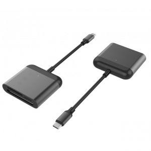 HyperDrive™ USB-C Pro Card Reader (CF, SD,microSD)