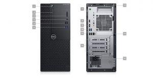 DELL OptiPlex 3060 - MT - 1 x Core i5 8500 / 3 GHz - RAM 8 GB - SSD 256 GB - DVD-zapisovač
