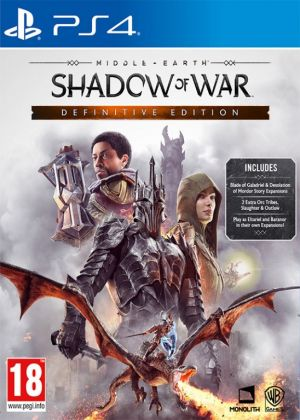 PS4 - Middle-earth: Shadow of War Definitive Edition