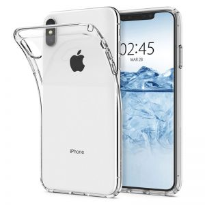 Spigen Liquid Crystal, clear - iPhone XS Max