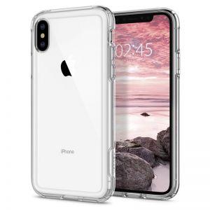 SPIGEN Crystal Hybrid, clear - APPLE iPhone XS/X