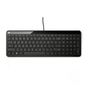 HP Klávesnice K3010, multimediální, černá, drátová (USB), SK