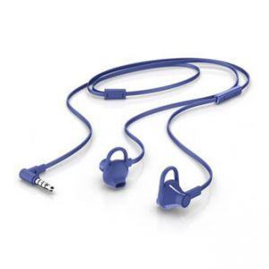 HP, 150, sluchátka s mikrofonem, bez ovládání hlasitosti, modrá, 3.5 mm jack špuntová