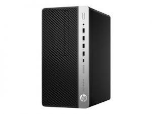 HP EliteDesk 705 G4 - Mikro věž - 1 x Ryzen 3 Pro 2200G / 3.5 GHz - RAM 8 GB - SSD 256 GB