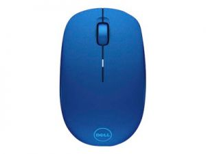 DELL WM126 Modrá Myš optická 3 tlačítka, bezdrátový - 2.4 GHz - bezdrátový přijímač USB -