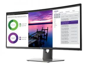 DELL UltraSHARP 34 Curved Monitor - U3419W, 3440x1440, 34, 8ms, 1000:1, 2xHDMI, DP, mDP, U