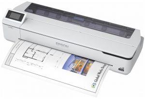 "EPSON SureColor T5100N / 36""/ 2400 x 1200 dpi / 4 inkousty / ADF / USB / LAN / Wi-Fi"