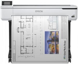 EPSON tiskárna ink SureColor SC-T5100N ,(4ink, 2400x1200 dpi, A3+ , USB ,LAN ,WIFI)