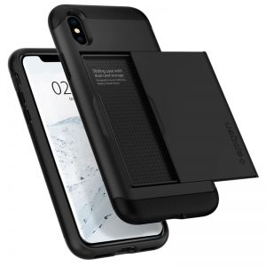 SPIGEN Slim Armor CS, black - APPLE iPhone XS/X